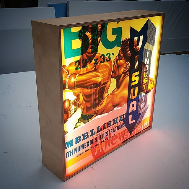Ply signs and lightboxes